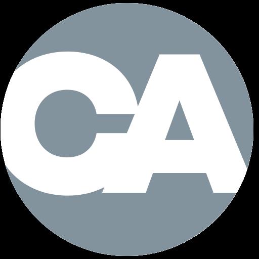 Capron • Avgerinos icon-esque logo