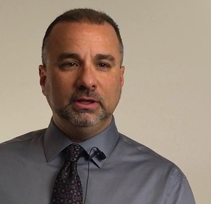 Photo of Mark G., a union representative
