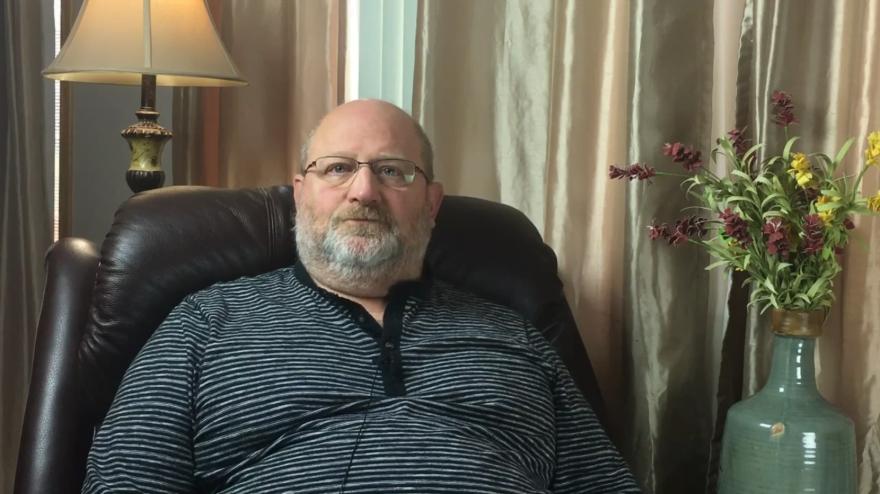 Screen capture of Bob's testimonial video