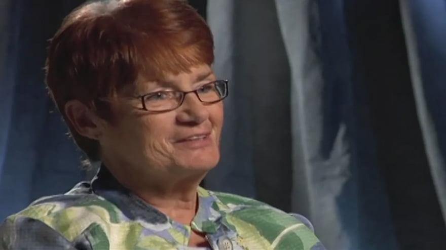 Screen capture of Pat's testimonial video